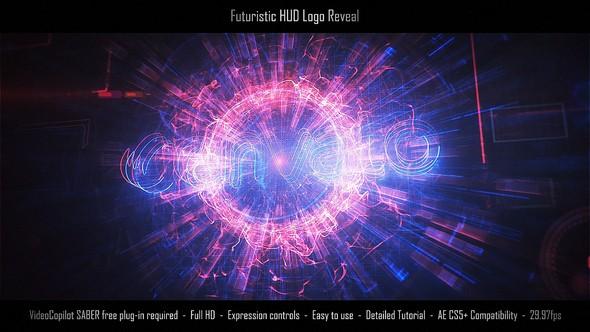 Videohive Futuristic HUD Logo Reveal 22444843