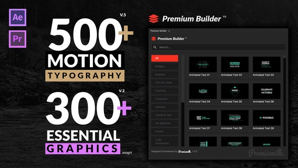 Videohive Motion Typography v.5 20645019 - Last Update