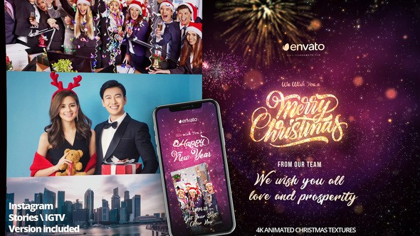Videohive Christmas Greeting Pack 22864448