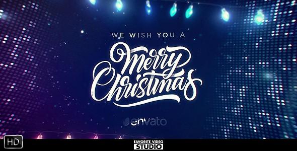 Videohive Magic Christmas Greeting 21126198