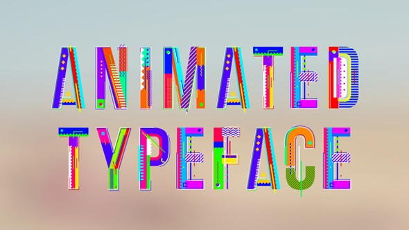 Videohive Animation Alphabet 19429243