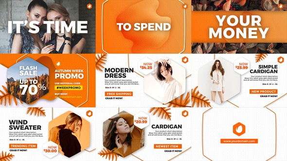 Videohive Fashion Promo 22817516