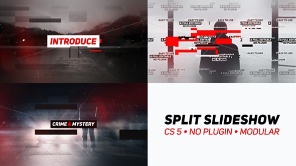 Videohive Split Slideshow 21281682