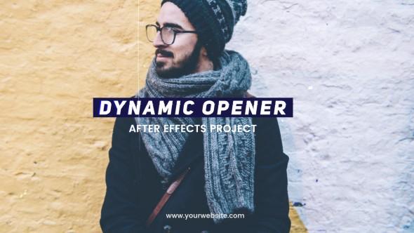 Videohive Dynamic Opener 20910688