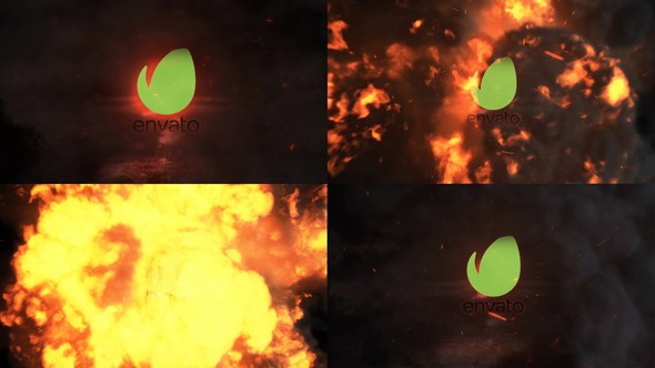 Videohive Exploding Logo Reveal 22894281