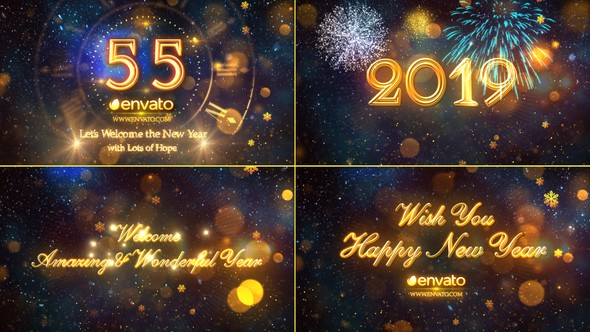 Videohive New Year Countdown 2019 19078767