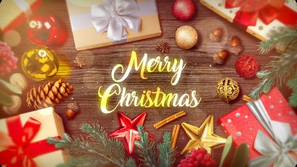 Videohive Christmas Slideshow 22917600