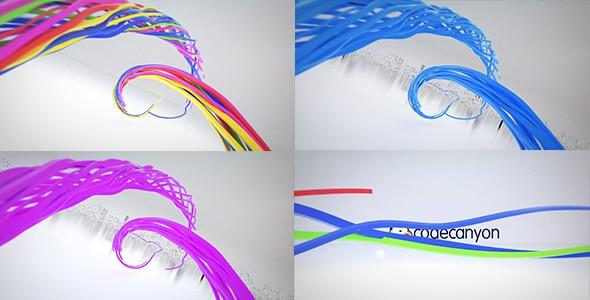 Videohive Colorful Ribbon Logo Reveal 21176957