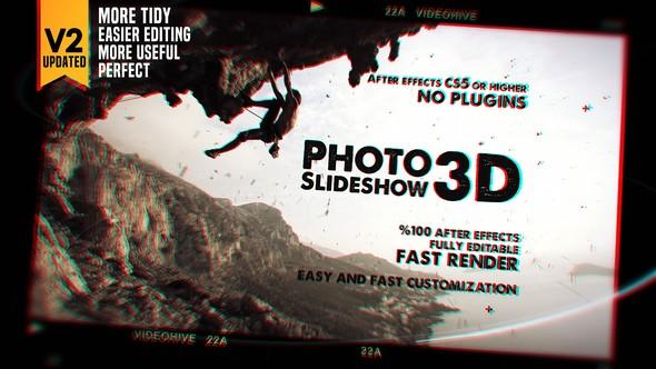 Videohive Photo Slideshow 3D 20542753