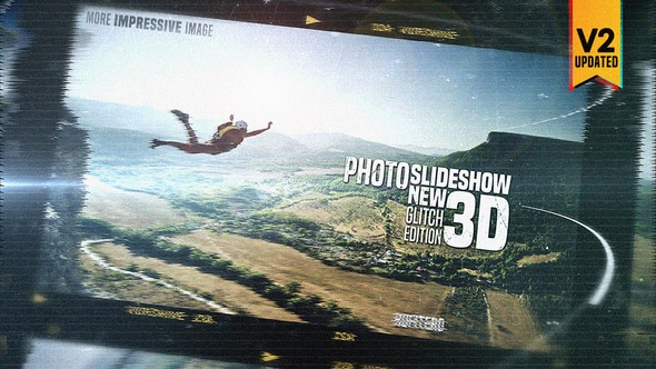 Videohive Photo Slide Show 3D New Glitch Edition 21647872
