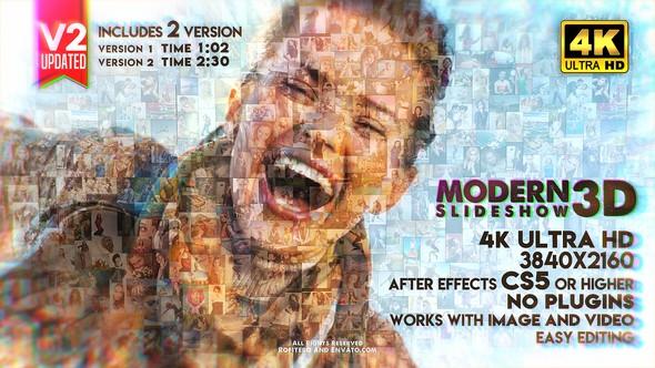 Videohive Modern Slideshow 3D 22607451
