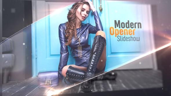 Videohive Modern Opener - Slideshow 22859286
