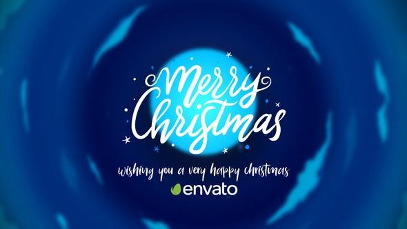 Videohive Christmas Cartoon Card 22921750