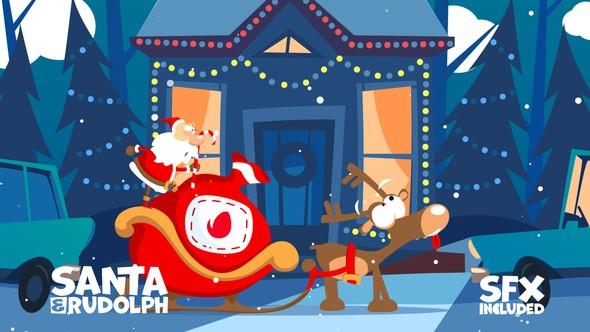 Videohive Christmas Logo Opener 7 - parking 19052178