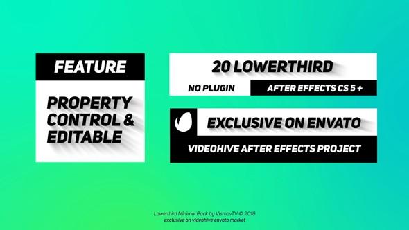Videohive Lowerthird 21312466