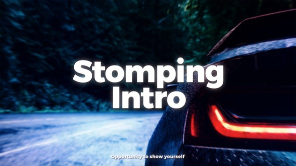 Videohive Stomping Intro 21797655