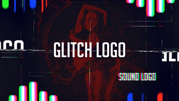 Videohive Sound Glitch - Logo Reveal 12391406