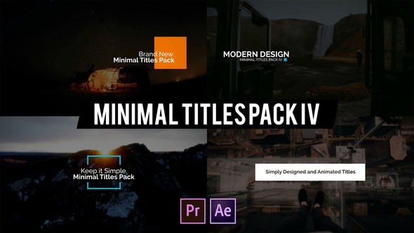 Videohive Minimal Intro Titles lV for Premiere Pro 22585524