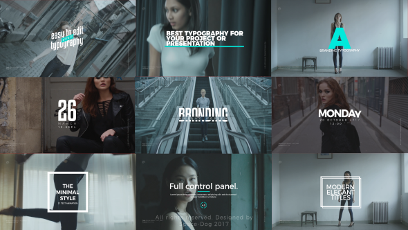 Videohive Stylish Titles 20811706