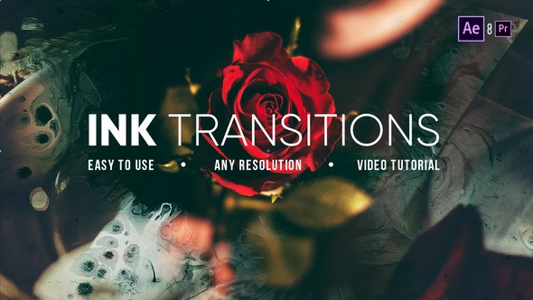 Videohive Ink Transitions 21895870