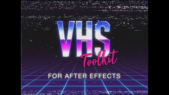 Videohive VHS Toolkit for After Effects 22293606
