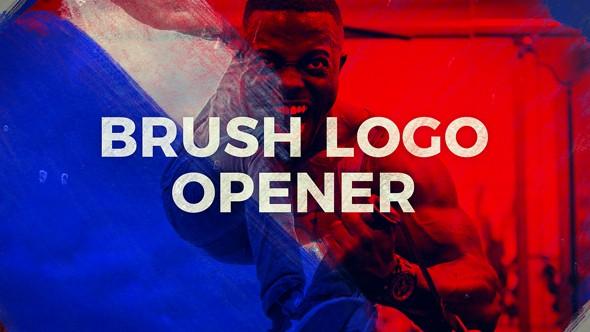 Videohive Brush Logo Opener 20900404