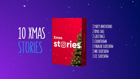 Videohive Christmas Stories Kit 22939458