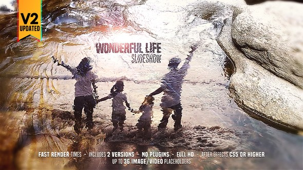 Videohive Wonderful Life Slideshow 21727199