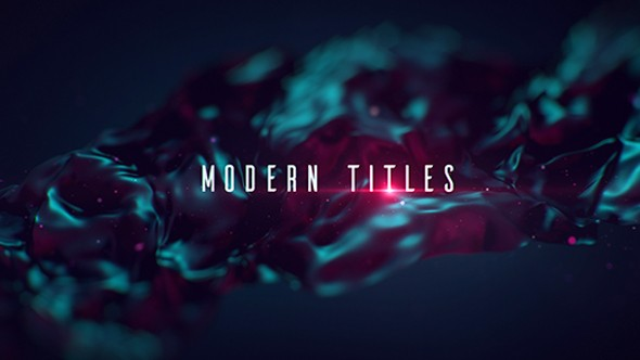 Videohive Modern Titles 160748745