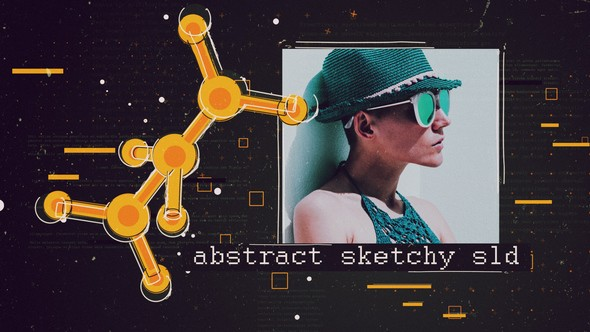 Videohive Abstract Sketchy Slideshow 22464596