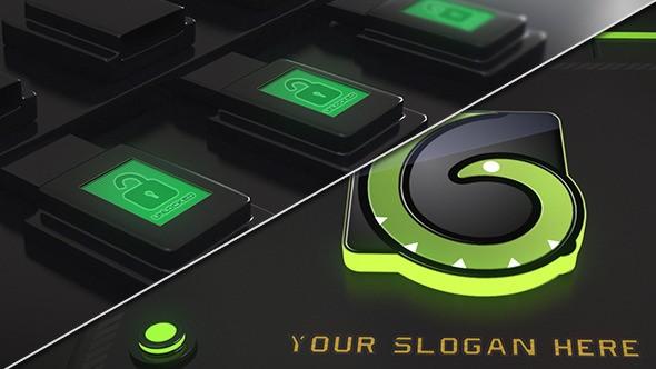 Videohive Sci-Fi Logo Reveal 6886251