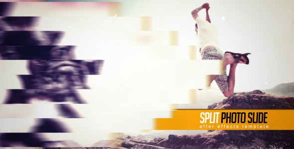 Videohive Split Photo Slide 6870002