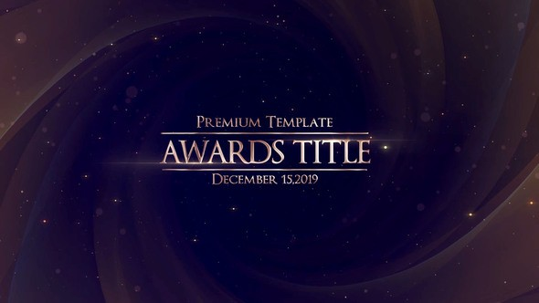 Videohive Awards Title 22971296