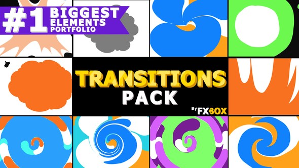Videohive Funny Transitions 22869819