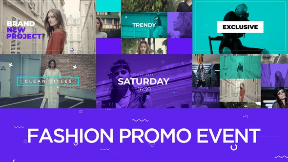 Videohive Fashion Promo Event 22337782