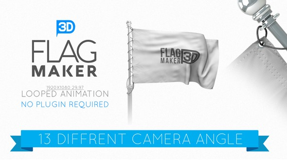 Videohive Flag Maker 22663338