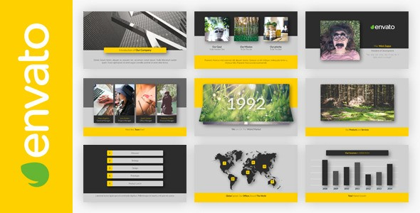 Videohive Clean and Simple Presentation 9243299
