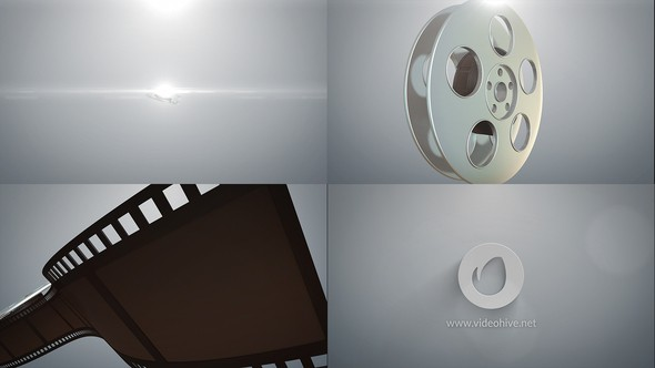 Videohive Cinema Logo Reveal 21729439