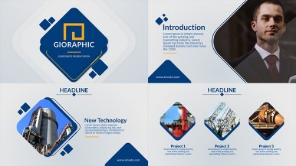 Videohive Modern & Clean Presentation 21754891