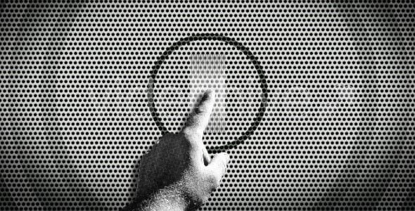 Videohive Hand click logo opener - revealer 120400
