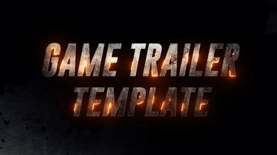Videohive Iron Game Trailer 22556476