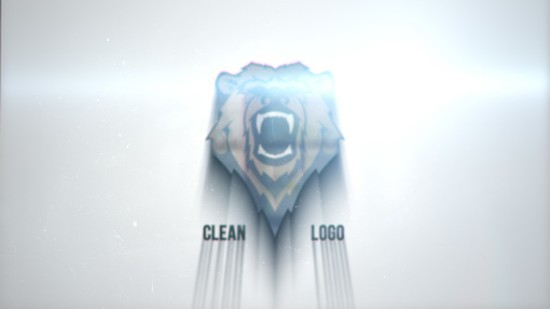 Videohive Clean Glitch Logo 22866726