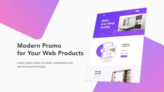 Videohive Modern Website Promo 22319791