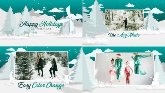 Videohive Christmas - White 22747607