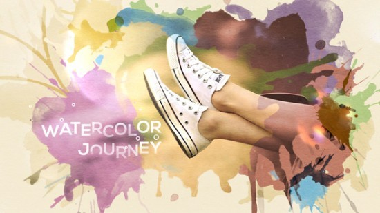 Videohive Watercolor Journey 22248996