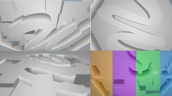 Videohive Paper Falling Down Logo Reveal 12896084