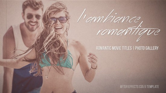 Videohive L'ambiance Romantique - Cinematic Titles | Gallery 10707606