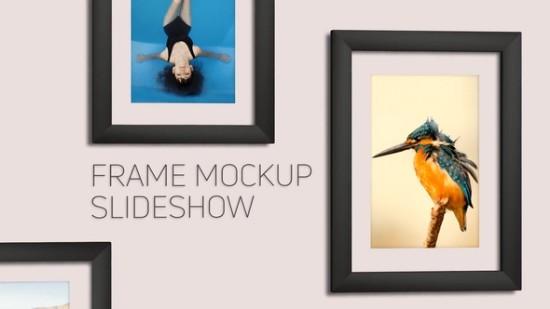 Videohive Frame Mockup Slideshow 21446234