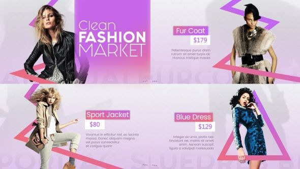 Videohive Clean Fashion Market 20328902