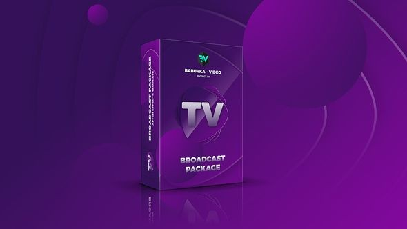 Videohive Broadcast Package // Colored TV 22499025